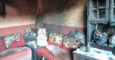 Sujeto le prende fuego a la casa de su ex novia en Coahuila, con todo y niños adentro; hay un herido