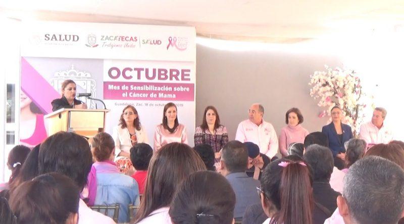 Unidad UNEME DEDICAM; Celebra la lucha contra el cáncer de mama