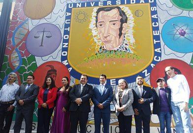 Celebra y devela mural Preparatoria Programa 2 de la UAZ