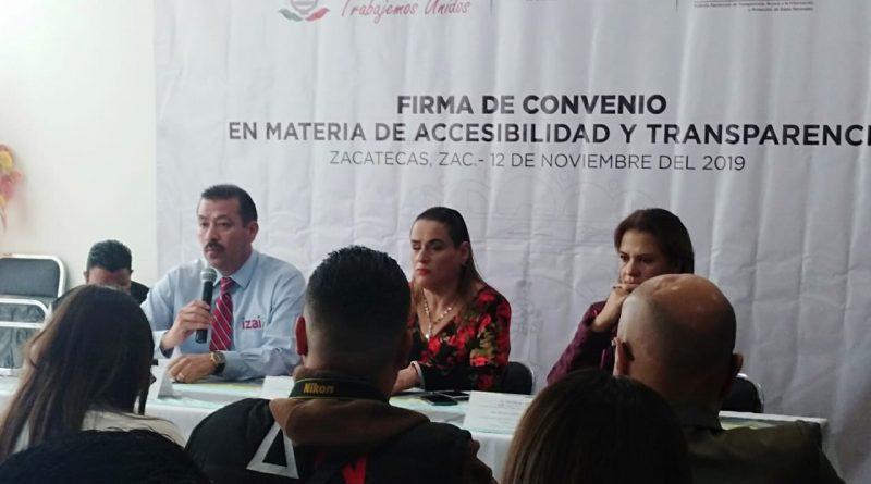 Se generó firma de convenio del IZAI con Instituto de Inclusión