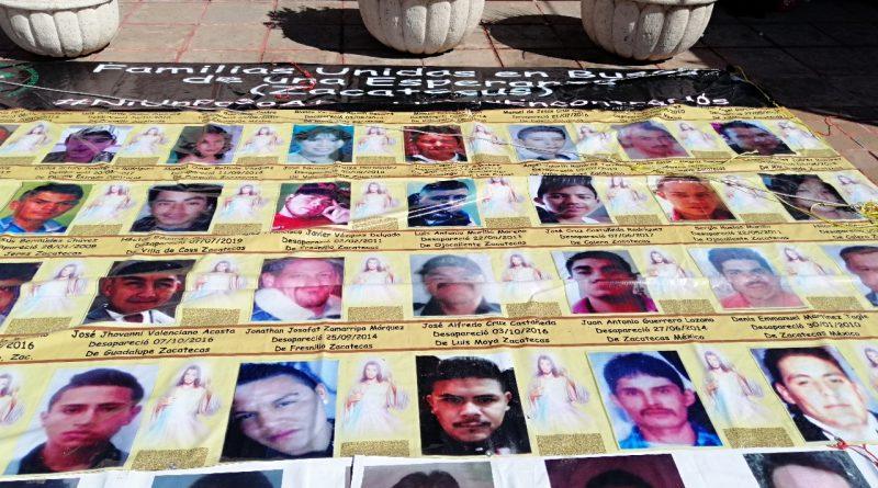 Aprueban mínimo presupuesto para la búsqueda de personas desaparecidas en Zacatecas