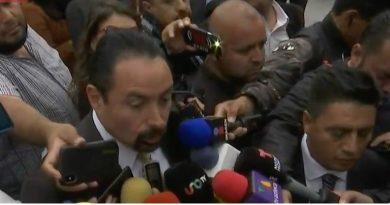 Abogado de Robles ve que juicio político va cargado de 'odio machista'