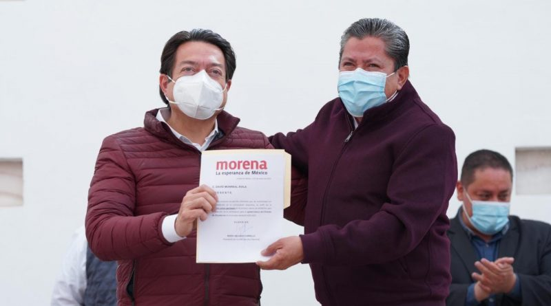 Dirigente Nacional de MORENA critica coalición contraria y entrega resultados a David Monreal