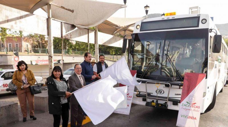 Gobierno de Zacatecas no logra modernizar transporte público