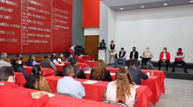PRI Zacatecas entrega constancias a candidatos