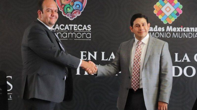 Visita Jorge Miranda presidencia municipal capitalina en pre a la entrega- recepción