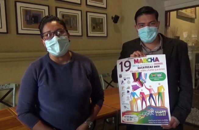 Anuncian Marcha de la Diversidad Sexual XXI en modalidad presencial